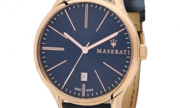 Maserati, il fascino senza tempo da portare anche al polso