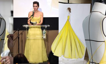 """Giallo di tendenza, Dior rilancia """"La Bella e la Bestia"""" con Emma Watson"""